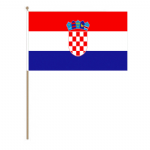 Croatia Country Hand Flag - Large.